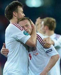 Радость датчан. Фото (c)AFP