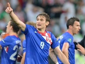 Футболисты сборной Хорватии. Фото (c)AFP