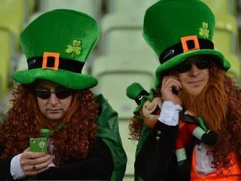 Болельщики сборной Ирландии. Фото (c)AFP