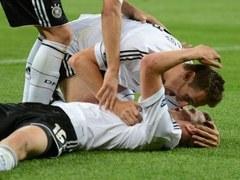 Футболисты сборной Германии. Фото (c)AFP