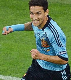 Хесус Навас в матче Хорватия - Испания. Фото  (c)AFP