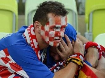 Болельщики сборной Хорватии. Фото (c)AFP