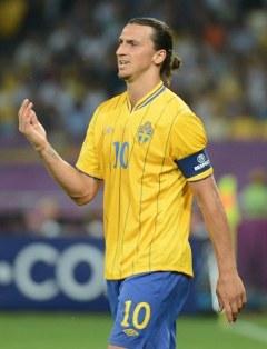 Златан Ибрагимович. Фото (c)AFP