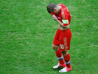 Андрей Аршавин после матча с греками. Фото Reuters