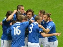 Футболисты сборной Италии. Фото (c)AFP