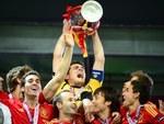 Футболисты сборной Испании. Фото (c)AFP