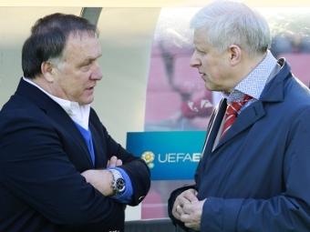 Дик Адвокат (слева) и Сергей Фурсенко. Фото РИА Новости, Антон Денисов
