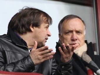 Александр Бородюк (слева) и Дик Адвокат. Фото РИА Новости, Владимир Федоренко