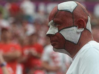 Болельщик сборной Польши. Фото (c)AFP