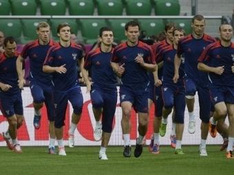 Футболисты сборной России. Фото ©AFP