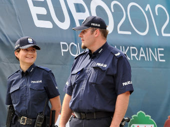 Полиция в Варшаве. Фото РИА Новости, Владимир Песня