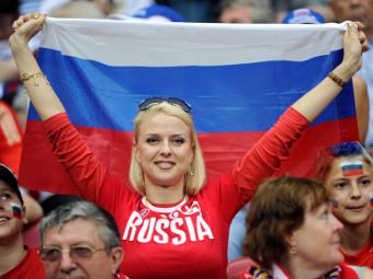 Болельщица сборной России. Фото Reuters