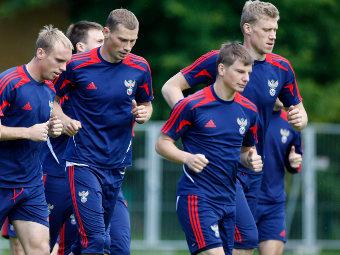 Тренировка сборной России. Фото Reuters