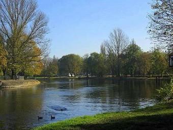Река Брда в Быдгоще. Фото с сайта odleglosci.pl