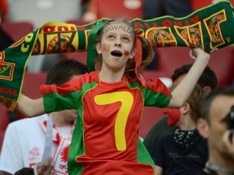Болельщица сборной Португалии. Фото (c)AFP