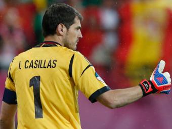 Икер Касильяс. Фото Reuters