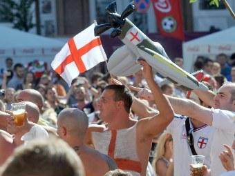 Болельщики сборной Англии. Фото (c)AFP