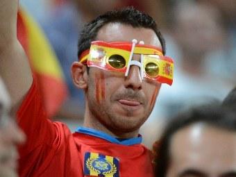 Болельщик сборной Испании. Фото (c)AFP
