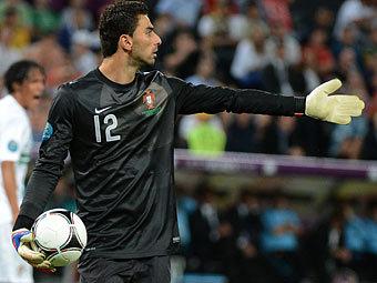 Вратарь сборной Португалии Руй Патрисиу. Фото (c)AFP
