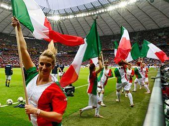 Открытие последнего полуфинального матча. Фото Reuters