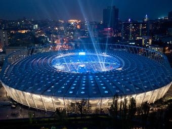 "Стадион ""Олимпийский"", фото РИА Новости, Андрей Волошин"