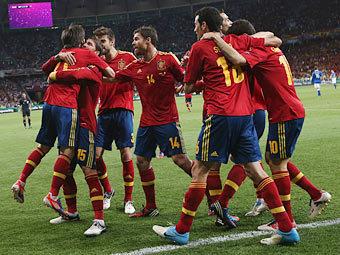 Сборная Испании. Фото Reuters