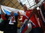 Российские болельзики во Вроцлаве. Фото (c)AFP