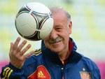 Главный тренер сборной Испании Висенте дель Боске. Фото (c)AFP