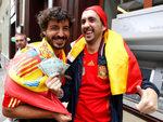 Богатые испанские болельщики. Фото Reuters