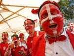 Датские болельщики. Фото Reuters