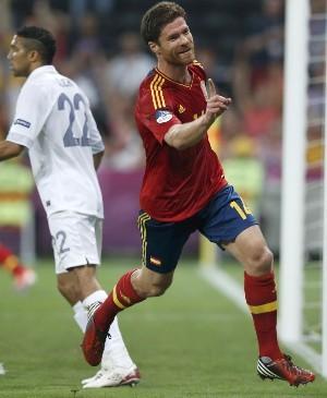 Хаби Алонсо забил в сотом матче за сборную и весел