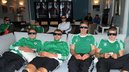 Футболисты сборной Германии готовились к матчу, просматривая свежего Человека-паука