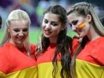 Болельщицы сборной Испании. Фото (c)AFP
